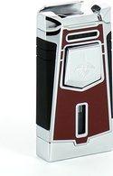 Encendedor jet Colibri Empire (rojo/cromado)