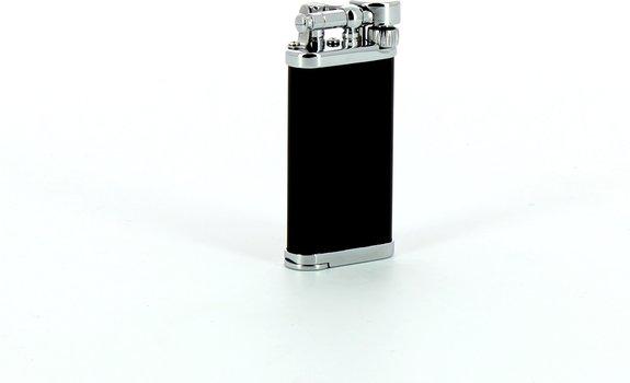 Encendedor para pipa IM Corona Old Boy (cromado/negro)