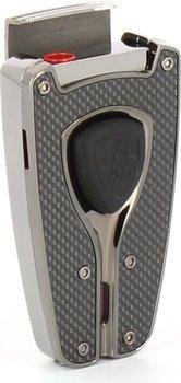 Encendedor Lamborghini 'Forza' (negro carbono)