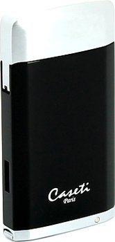 Caseti (negro/cromo)