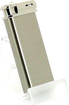 Encendedor para pipa Sarome (cromo/satinado) + prensador