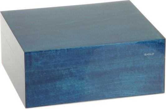 Humidor Siglo S 50 azul
