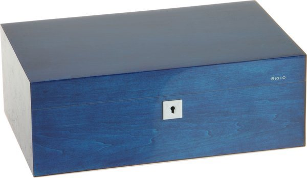 Humidor Siglo M 75 azul