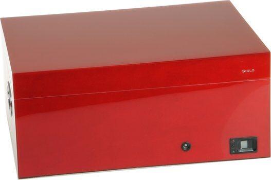Humidor Siglo huella dactilar roja