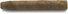 De Olifant Modern Brasil Giant Cigarillo 5x