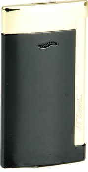 S.T. Dupont Slim 7 Encendedor Negro/Dorado