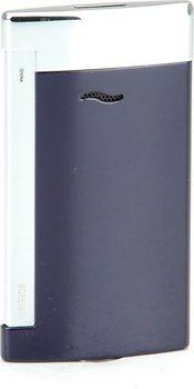 S.T. Dupont Slim 7 Encendedor Azul/Cromado
