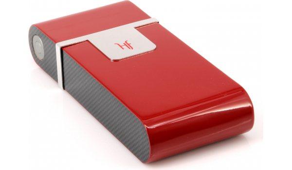Humidor de bolsillo HF Barcelona R rojo
