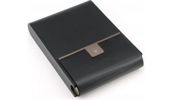Humidor de viaje HF Barcelona B 10 carbono negro