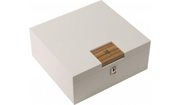 Humidor de escritorio HF Barcelona W Smart blanco