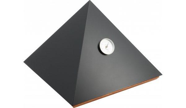 adorini Humidor Pirámide Deluxe M Negro