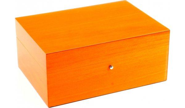 Humidor Gentili Naranja para 10 puros