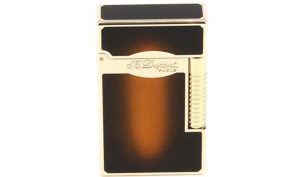 Encendedor S.T. Dupont Line 2 Degradado marrón lacado/dorado