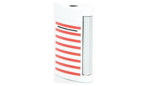 S.T. Dupont Encendedor Minijet Rayas Marinas/Blancas/Rojas