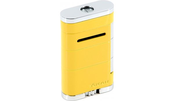 Encendedor 'Xikar Allume Single Jet' (amarillo)
