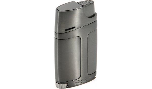 Encendedor 'Xikar Element Double Jet' (gris metálico)