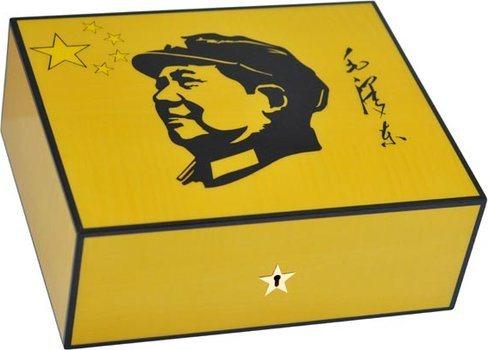 Humidor Elie Bleu Mao Sicómoro Amarillo