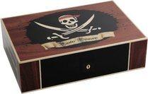 Humidor Elie Bleu Tesoro Pirata Edición Limitada para 110 Puros