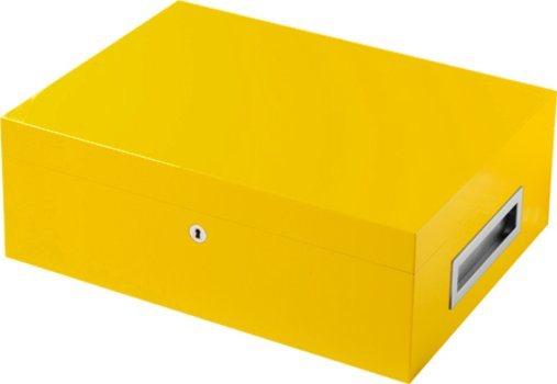 Humidor VillaSpa amarillo