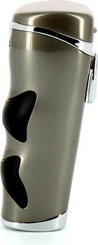 Tycoon cigar lighter Predator Triple Cross jet gun/chrome