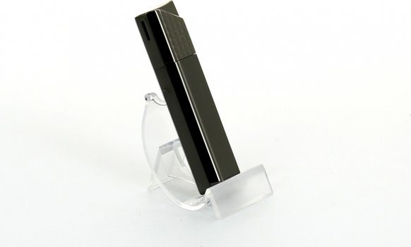 Encendedor Sarome piezoeléctrico (enrejado níquel negro/satinado)
