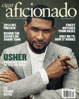Revista \'Cigar Aficionado\' (Sept./Oct. 2014)