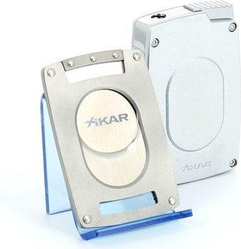 Set Xikar Ultra slim (cortapuros + encendedor)