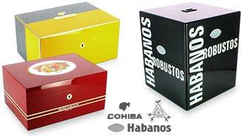 Cohiba Humidores, Montecristo, Habanos